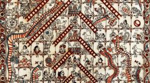 Jeu échelles et serpents (détail)